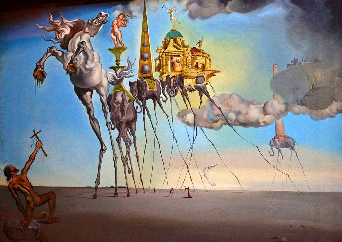Surrealism in the Art of Dali. Salvador Dali was a leading 20th… | by Alya  Khemji | Medium