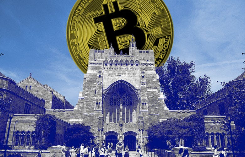 When Will Yale Buy Bitcoin? | Institutional Investor