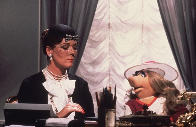 Image result for diana rigg the great muppet caper