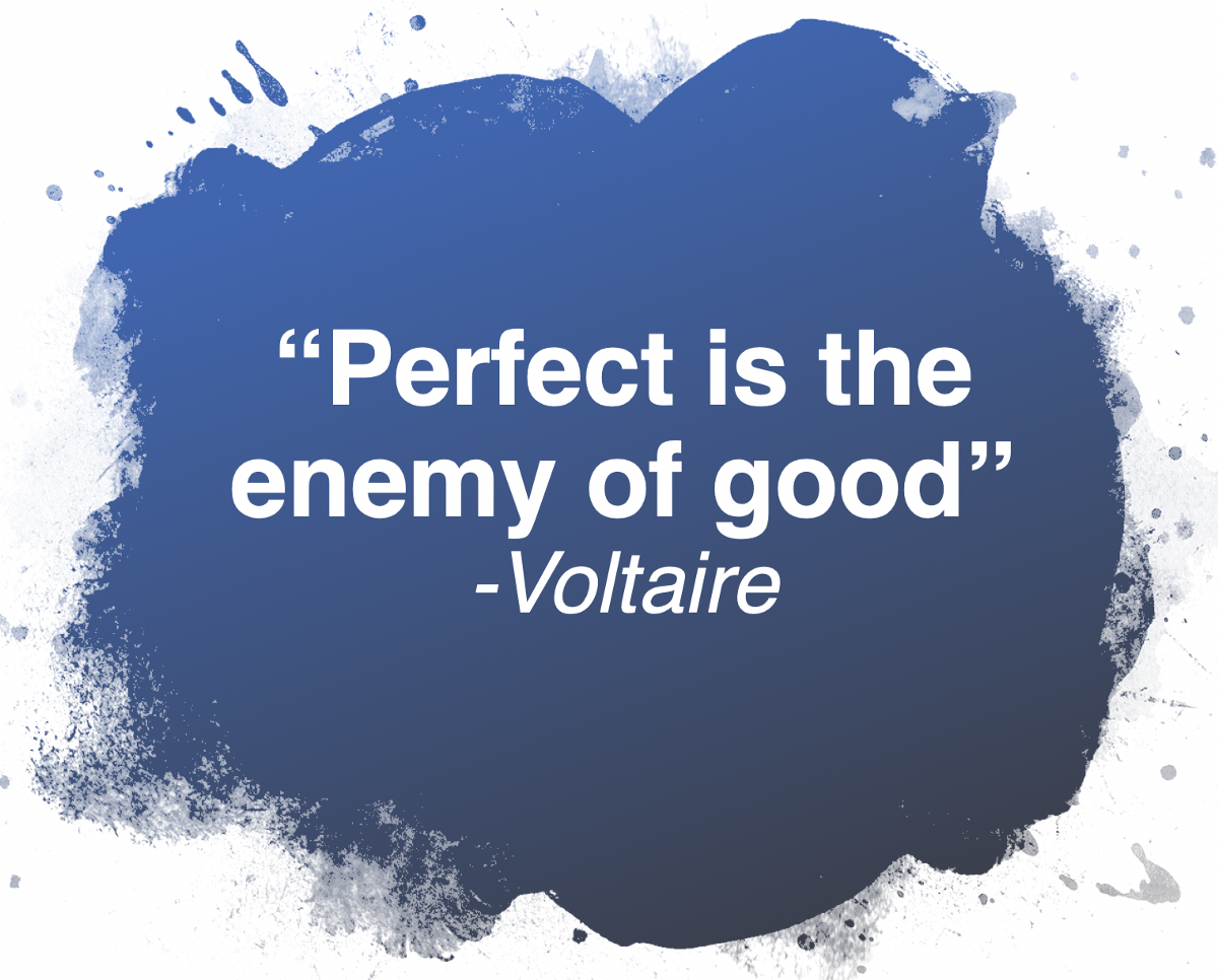 Perfect is the Enemy. At some point early in my career, I… | by Robby  Winchester | Posts By SpecterOps Team Members