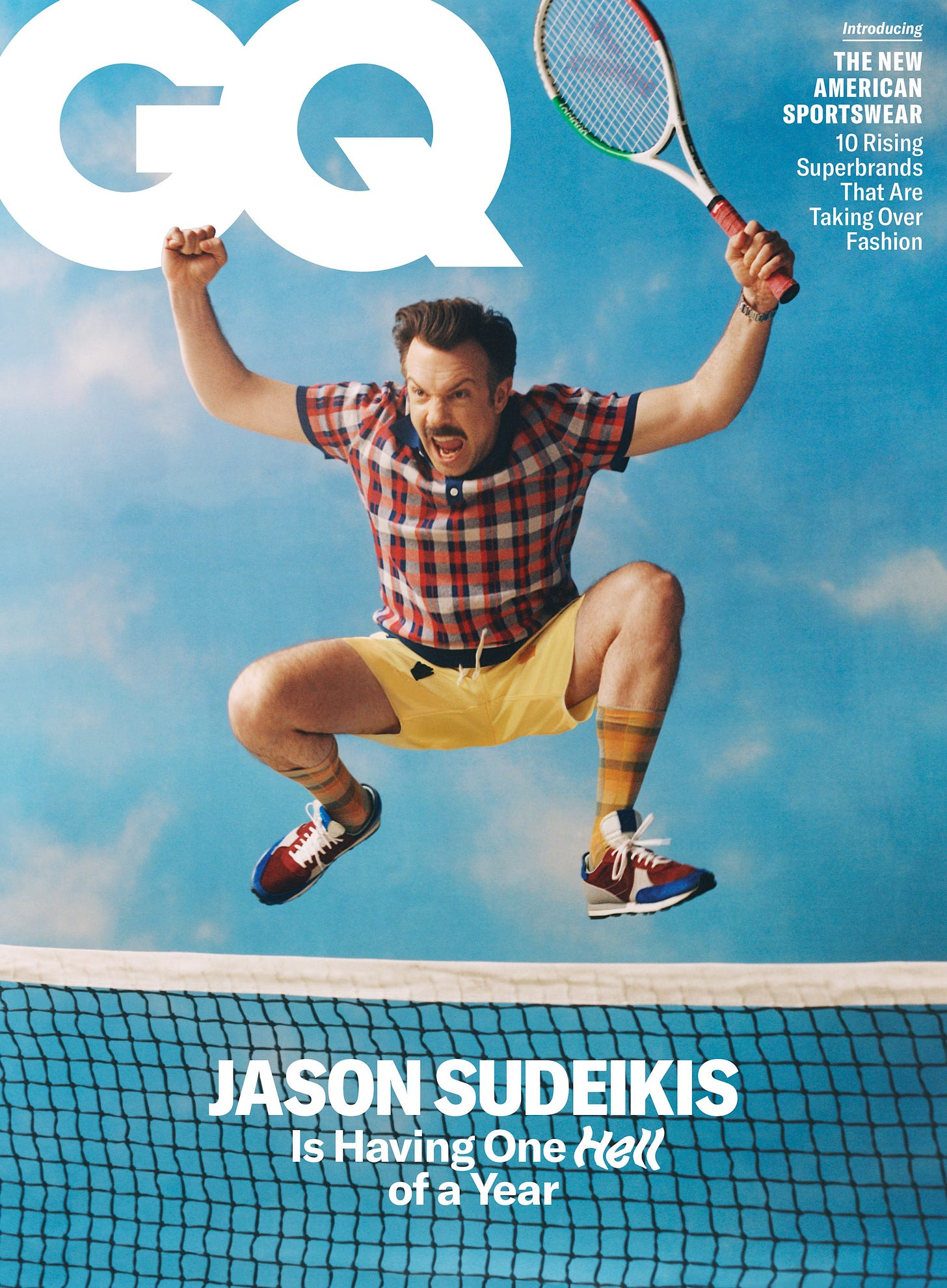 """Jason Sudeikis on Ted Lasso, SNL, and """"Landing Like an Avenger"""" After  Heartbreak   GQ"""