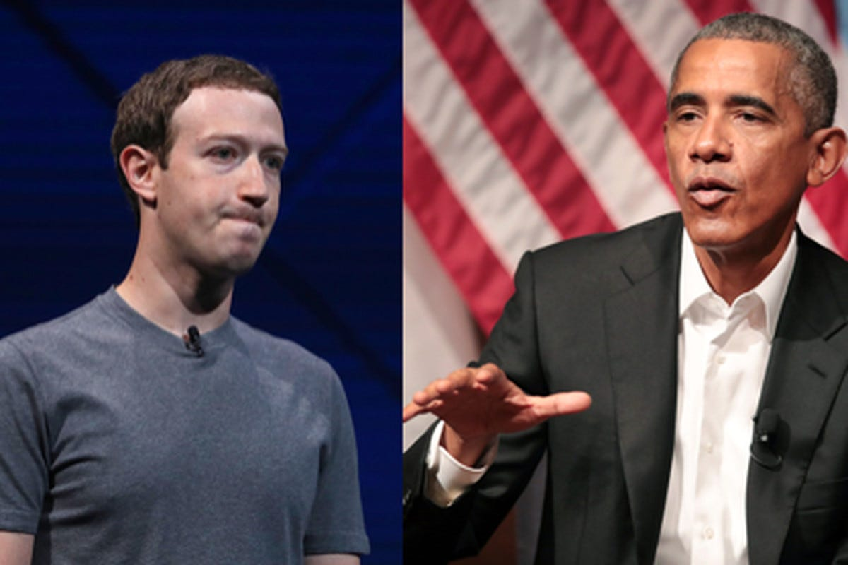 Obama personally warned Mark Zuckerberg to take the threats of fake news  'seriously' - The Verge