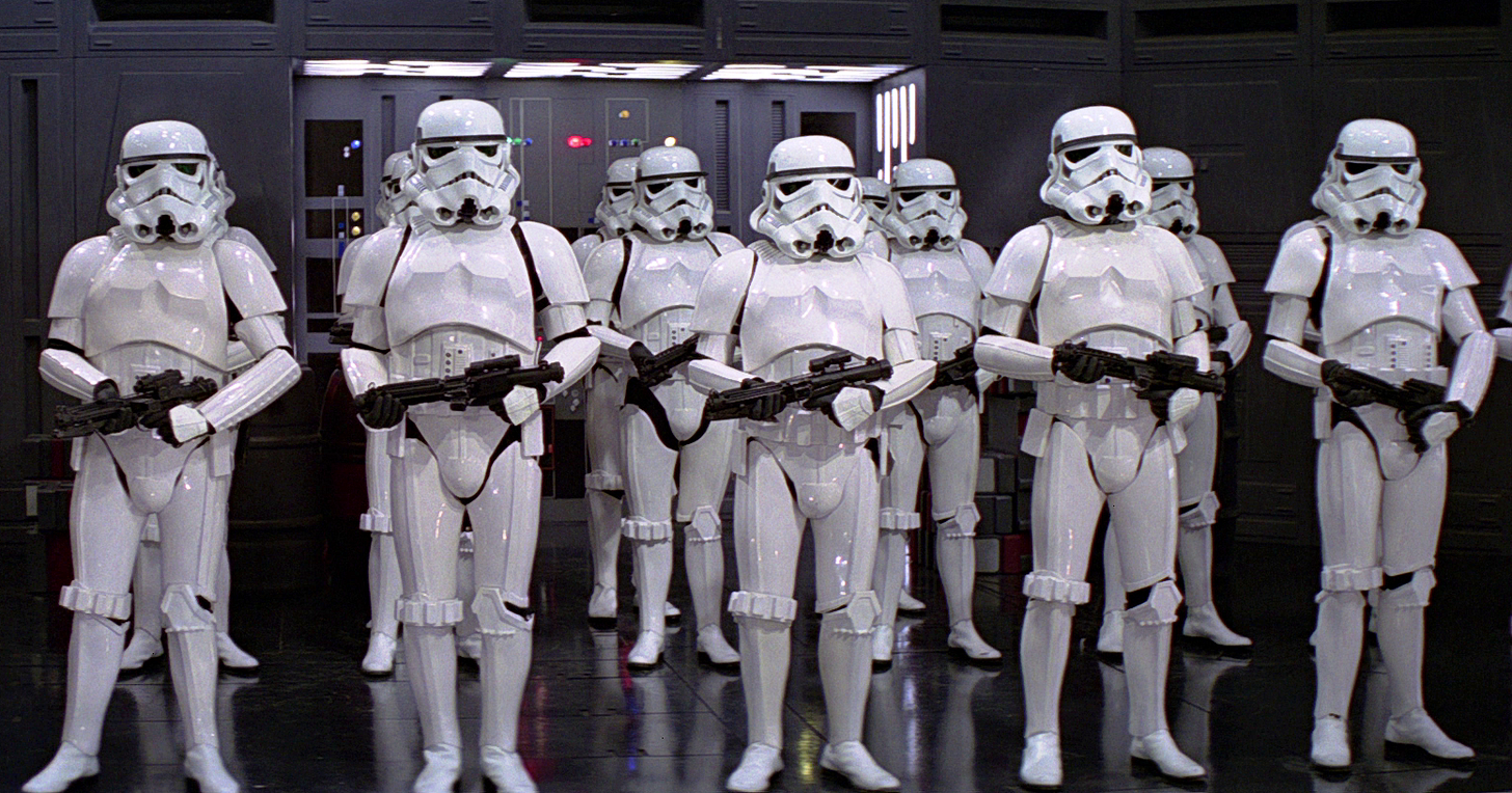 This is what the stormtroopers might look like in Star Wars VII