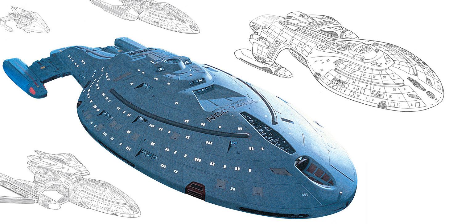 First Look: Star Trek Designing Starships Vol.2 - Hero Collector