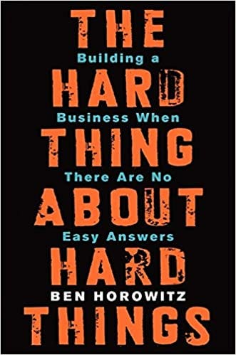 Buy The Hard Thing about Hard Thing: Building a Business When There are No  Easy Answers Book Online at Low Prices in India | The Hard Thing about Hard  Thing: Building a