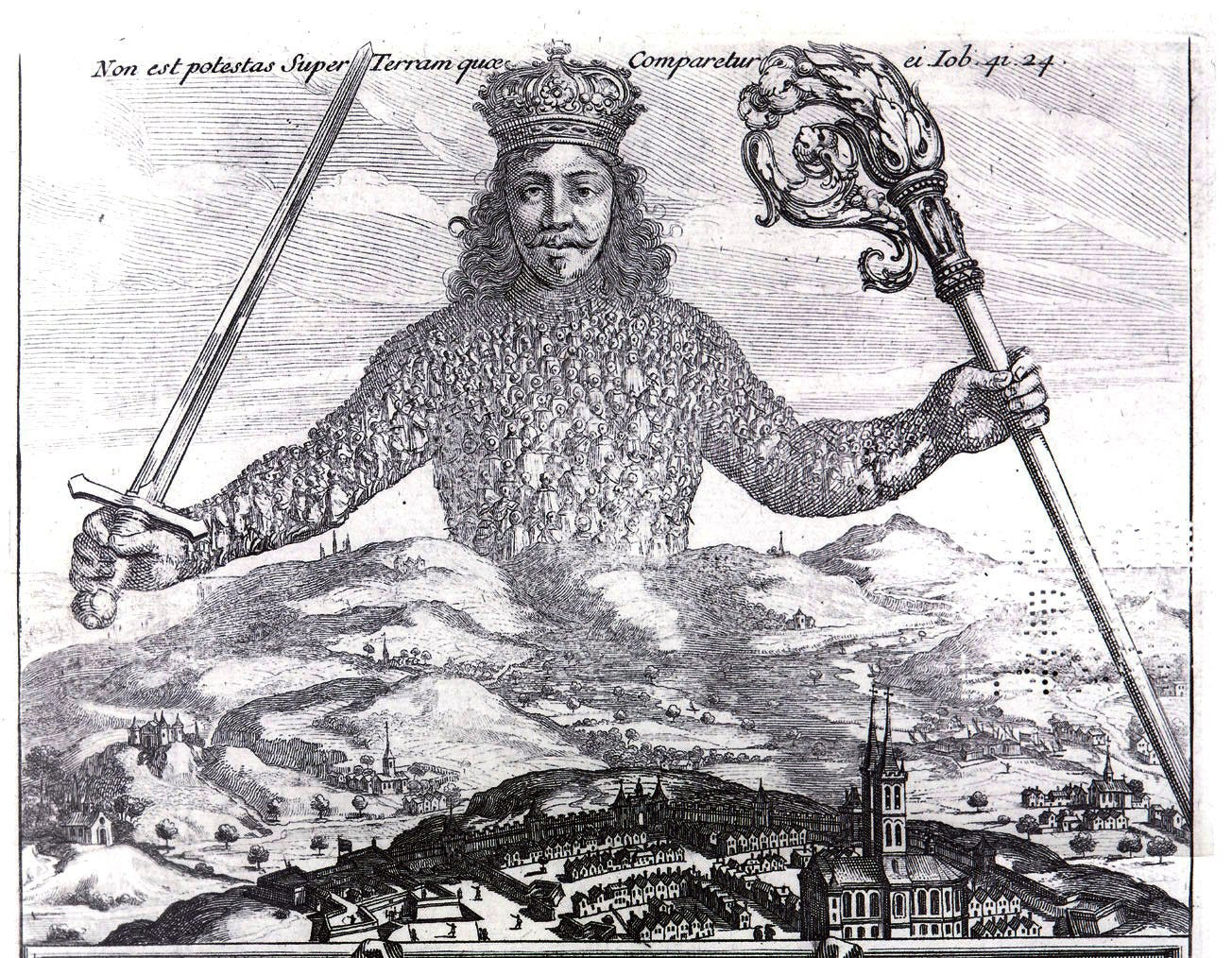 """How Hobbes first pictured the """"monster"""" of good government 