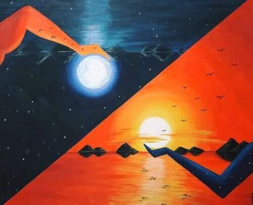 Harmony (ART_2513_43980) - Handpainted Art Painting - 24in X 20in