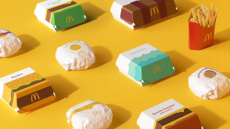 Resultado de imagem para mcdonalds packaging