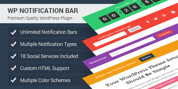 WP Notification Bar Pro-590x295