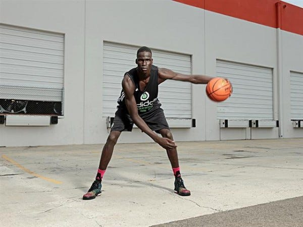 Thon Maker - Courtesy adidas