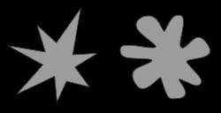 Booba and Kiki shapes