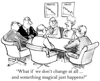 Humor - Cartoon: BA Leading Change in the Organization (With images) | Change management ...