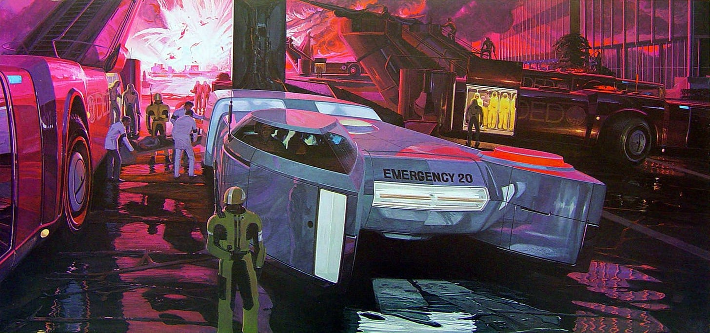 Syd Mead Wallpaper Series 2   Syd mead, Retro futurism, Blade runner