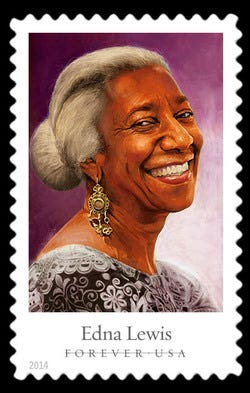 Edna Lewis United States Postage Stamp | Celebrity Chefs