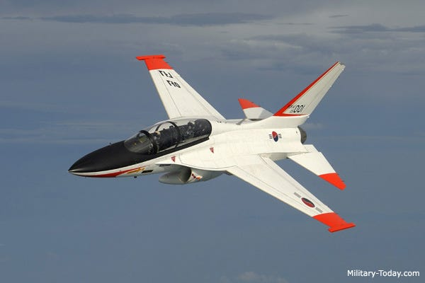 KAI T-50 Golden Eagle Trainer Aircraft | Military-Today.com
