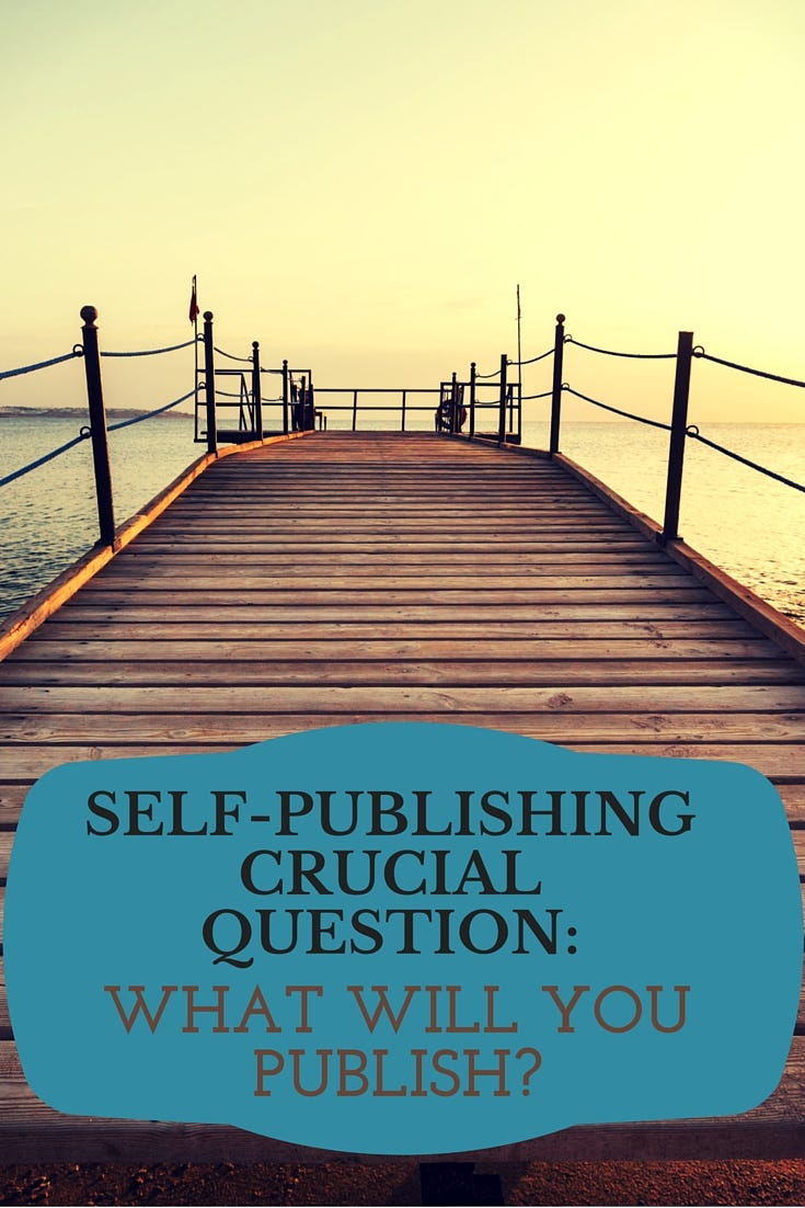 If you choose to self-publish, the first question is what will you publish? Everything? Only some? Hybrid or full indie? These are crucial questions. | IndieKidsBooks.com