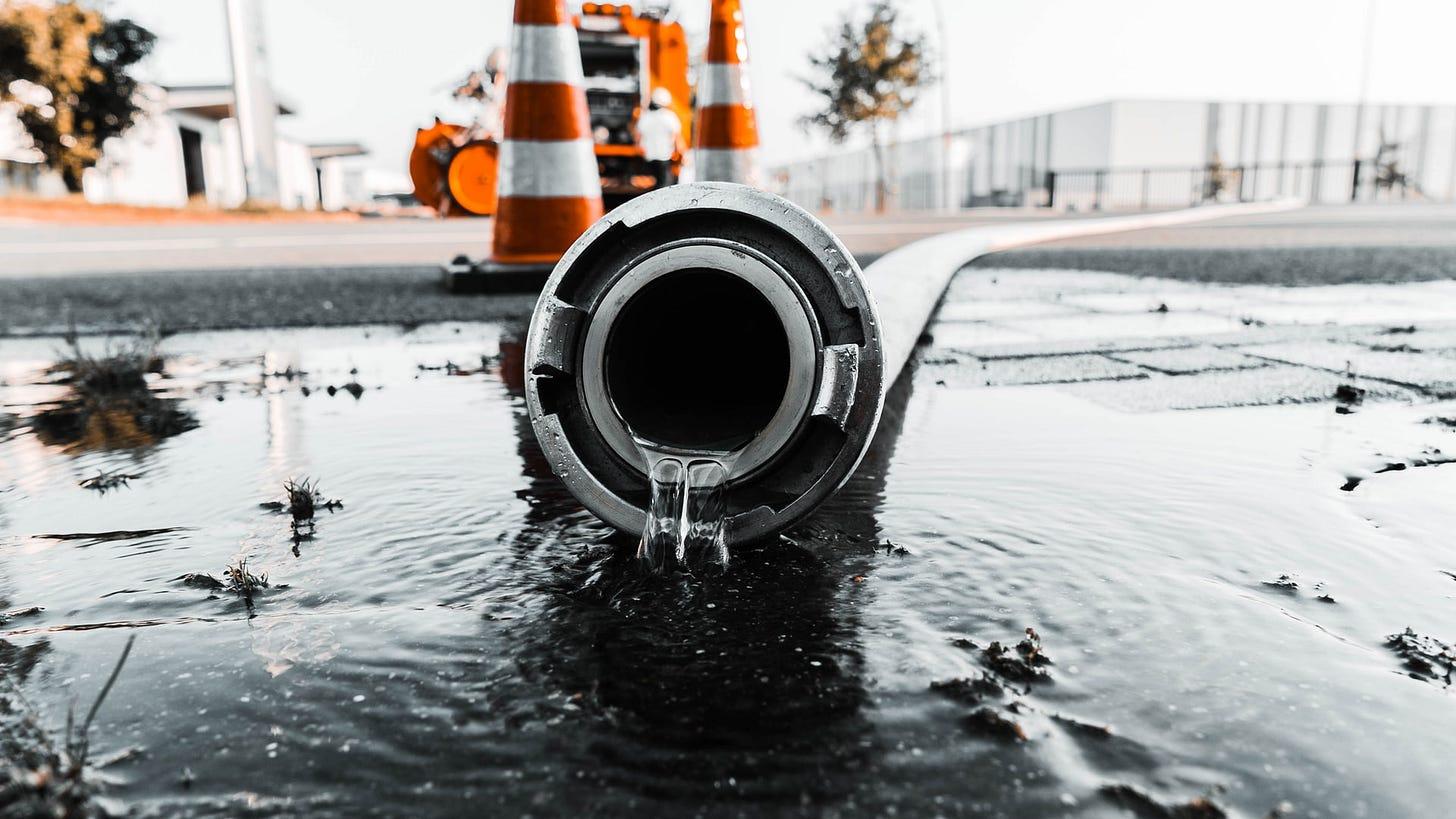 Imagem de vazamento