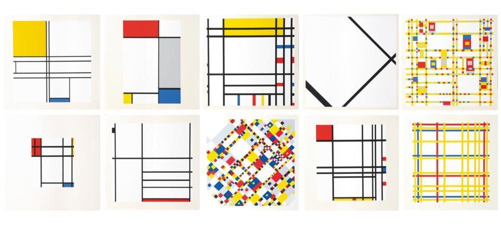 Piet Mondrian Paintings & Artwork for Sale | Piet Mondrian Art Value Price  Guide