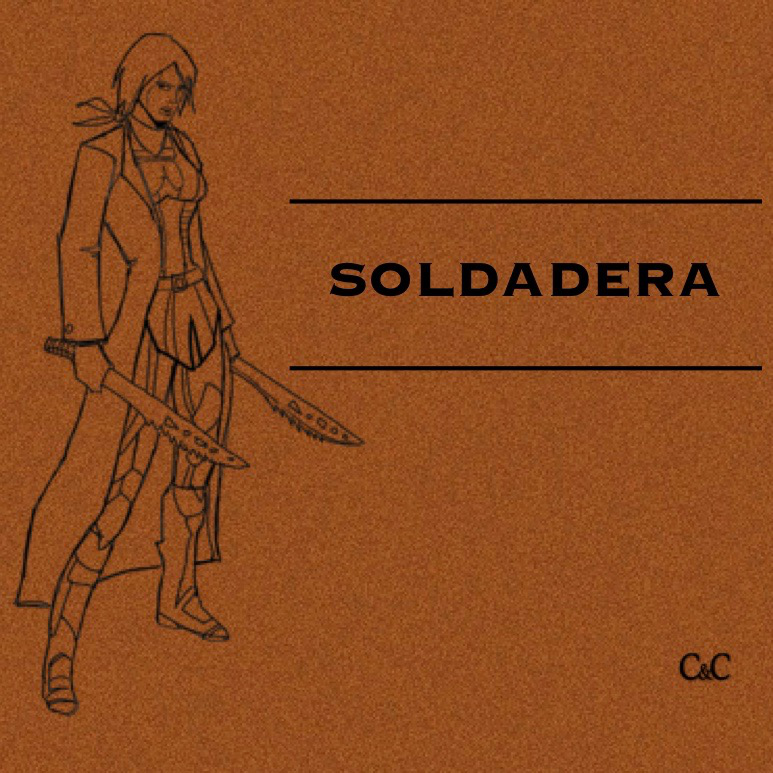 SOLDADERA  - a LatinX superhero podcast