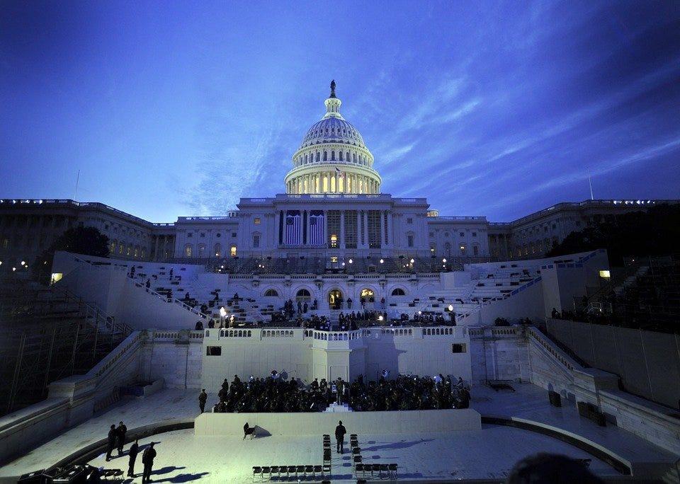 Washington Dc, Capitol, Buildings, Landmark