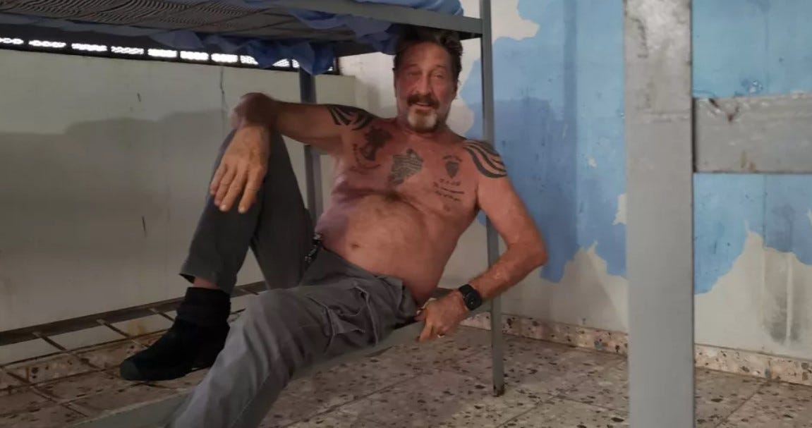John McAfee arrested and charged with tax evasion   Boing Boing