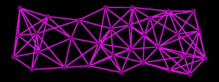 A mesh network