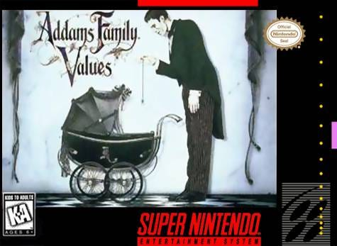 Image result for adams family values snes