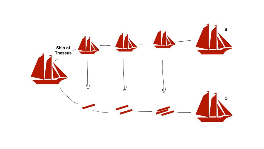 The Ship of Theseus — Vish Ravindran