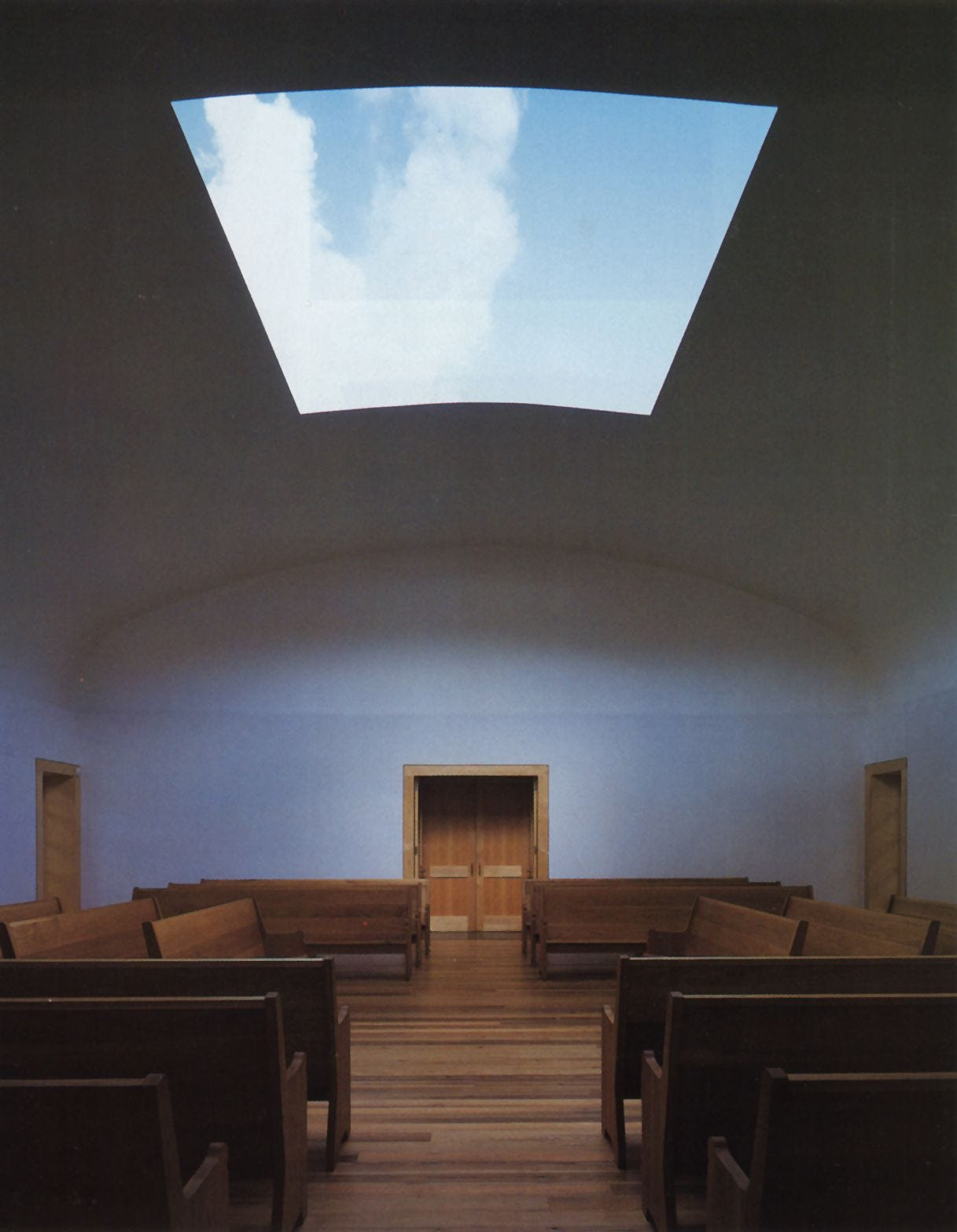 JAMES TURRELL Skyspace Reopens | James turrell, Architecture, Sacred  architecture