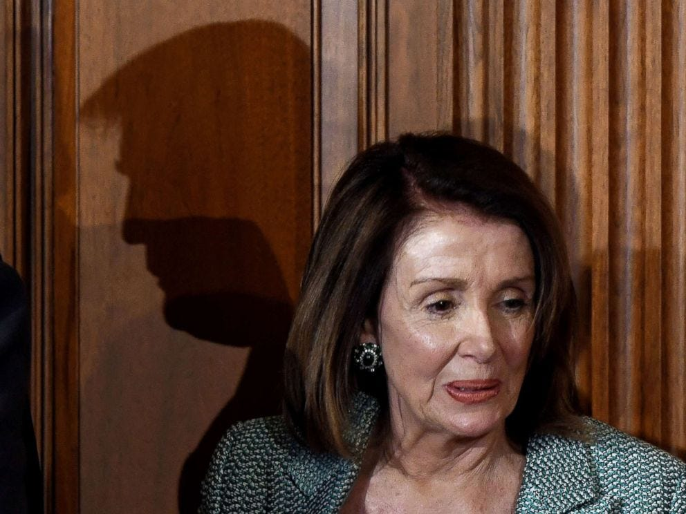 Image result for pelosi in shadow