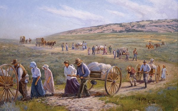 Pioneer History and A Westward Expansion Timeline   FamilySearch