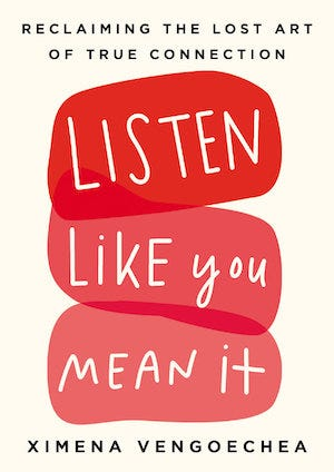 Book cover: Listen Like You Mean It
