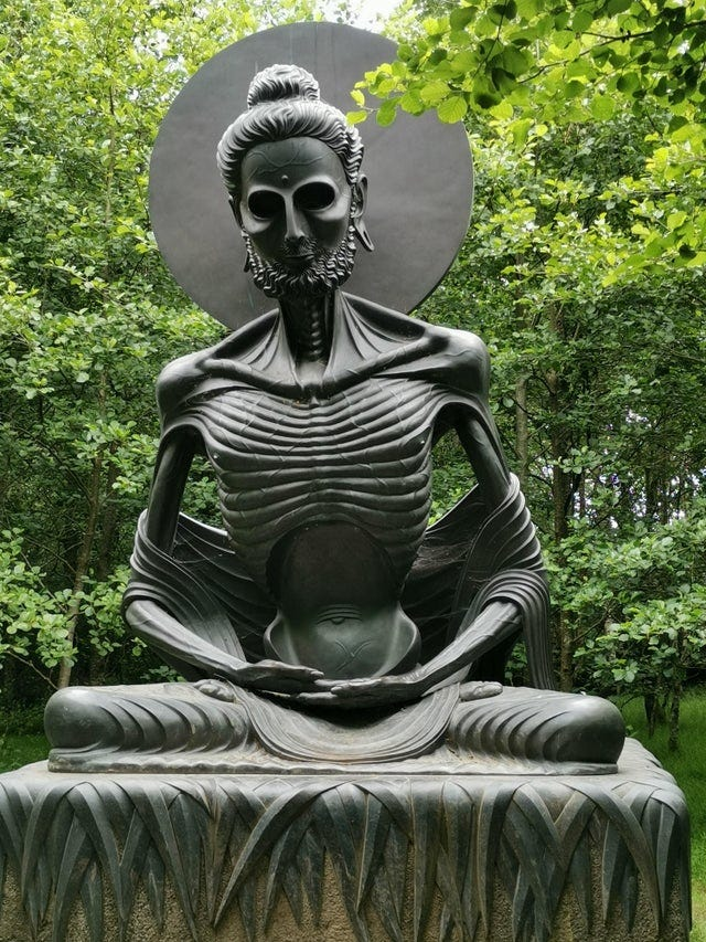 r/interestingasfuck - Victor's way in County Wicklow, Ireland, is a privately owned meditation garden notable for its black granite sculptures. The the park is dedicated to cryptographer Alan Turing. Highly recommended
