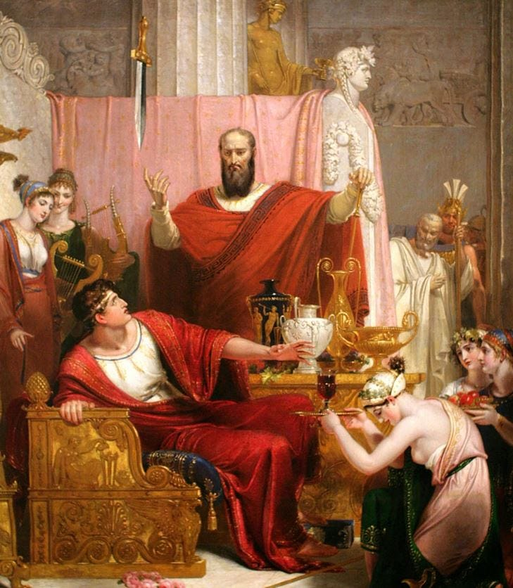 Image of the Sword of Damocles