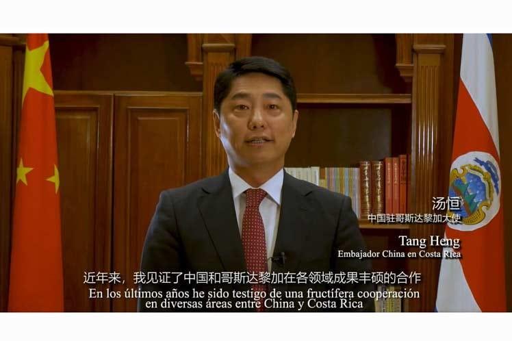 China confía en fortalecer asociación estratégica con Costa Rica