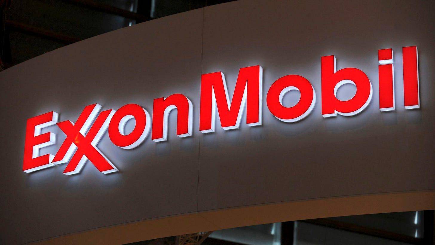 Exxon Mobil warns investors it's heading toward a fourth straight quarterly  loss
