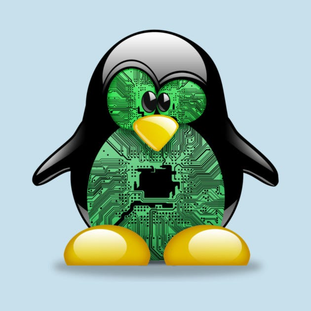 Linux Tux - Linux - T-Shirt | TeePublic