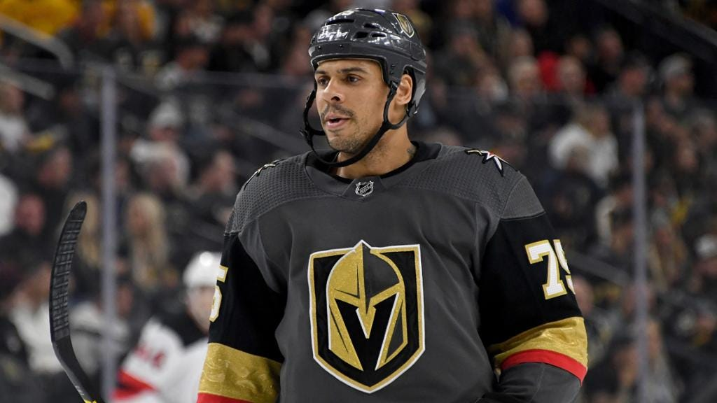 Reaves to have hearing for actions in Golden Knights game