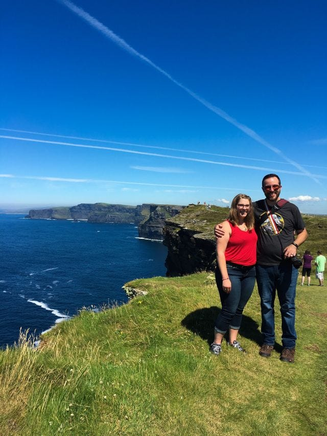 The Cliffs of Moher are majestic AF