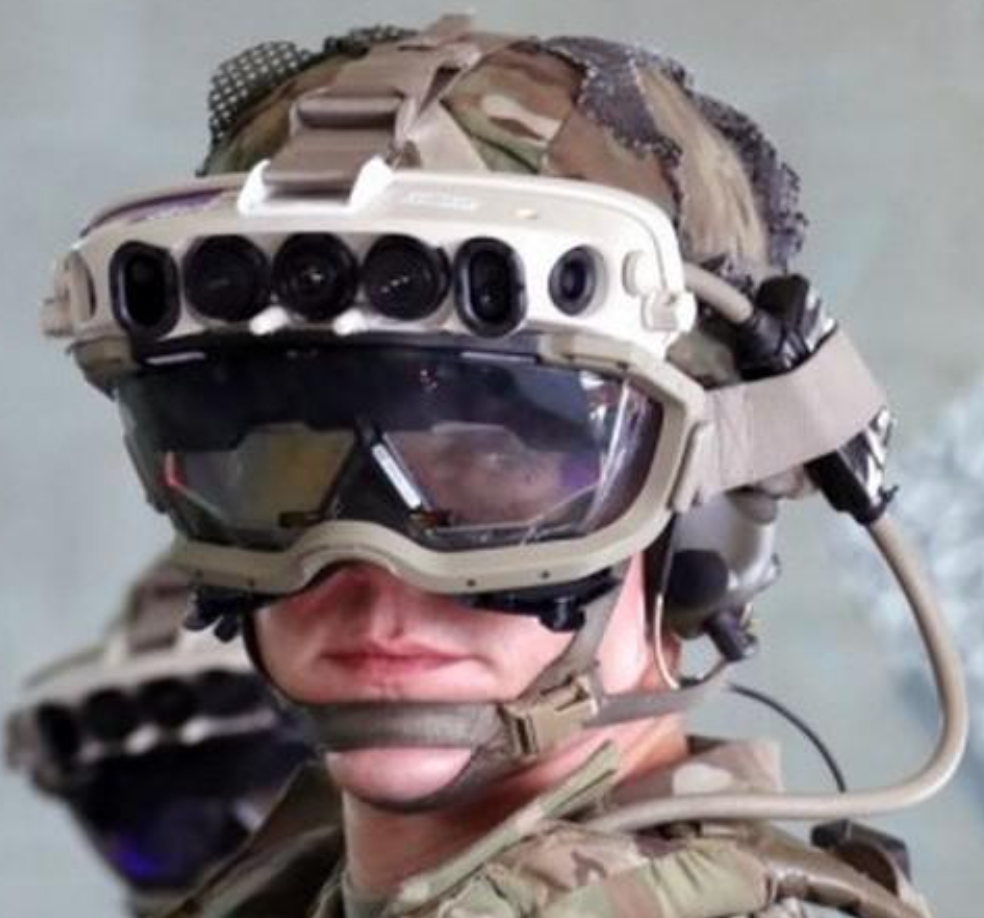 Microsoft augmented reality headset for the Army.