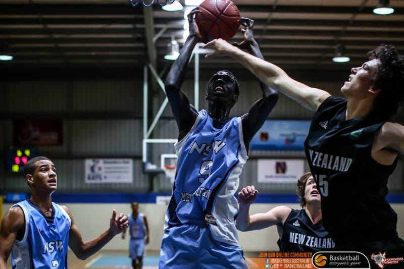 Deng Gak | Credit: Basketball Australia/Kangaroo Photos