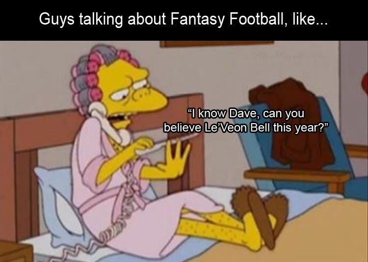 how guys are about fantasy football meme - Dump A Day