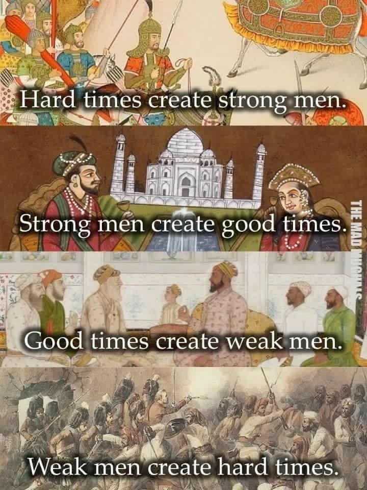 Weak Men Create Hard Times, Hard Times Create Strong Men | Stefan Aarnio