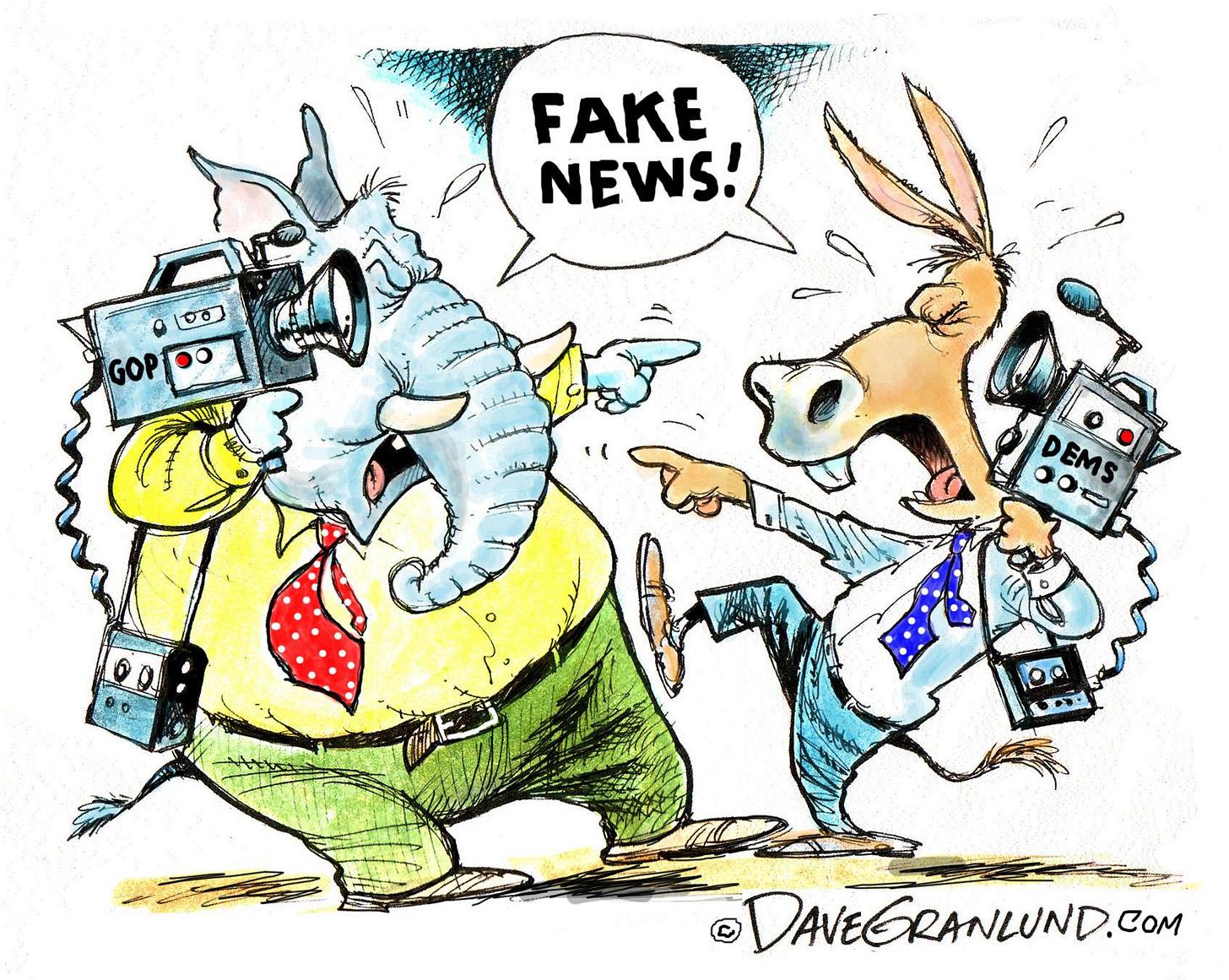 Granlund cartoon: Fake news and politics - News ...