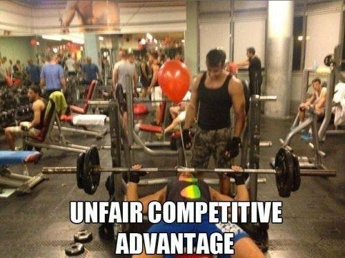 Unfair advantage - Meme Guy