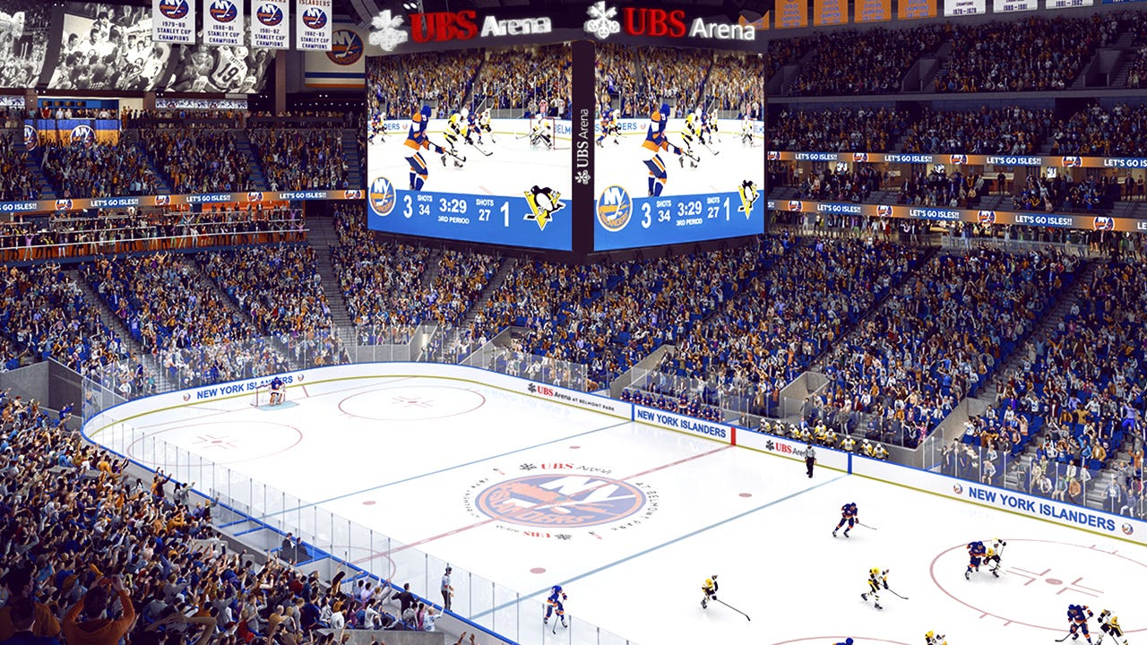 New York Islanders Put Season Tickets On Sale At New UBS Arena –  Sportico.com