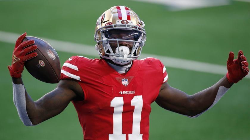 49ers seek more wide receiver depth behind Brandon Aiyuk, Deebo Samuel | RSN