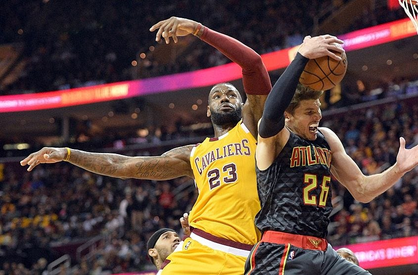Image result for cavs sweep hawks