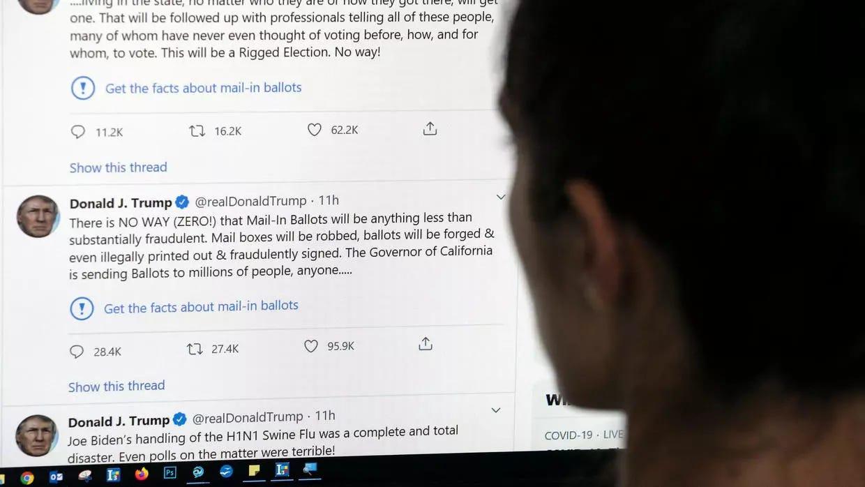 Qué puede hacer Trump contra Twitter?
