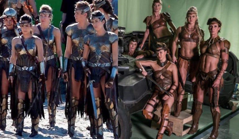 Wonder Woman Amazons Vs Justice League Amazons : batman